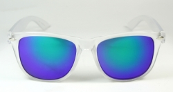 Wayfarer Frosty Large Blue Oily