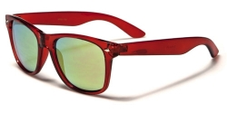 Wayfarer Trans Neon Red Yellow Oily