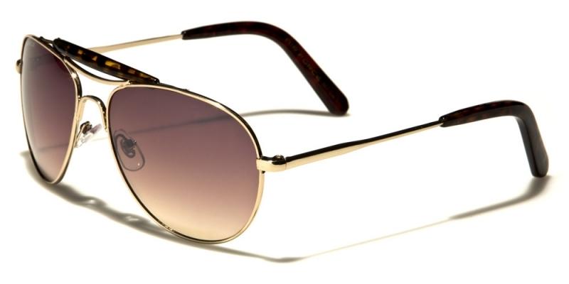 Solglasögon Metall Pilot Cray Guld Tortoise 21f6d8ed900e7
