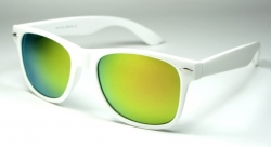 Wayfarer Revo White/Yellow Oily
