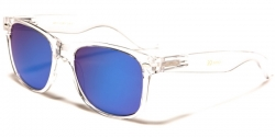 Wayfarer Transparent Revo Blue