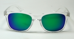 Wayfarer Transparent Revo Green
